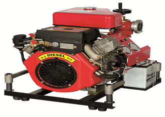 Threaded Type Diesel Driven Fire Pump Middle Pressure Connection Mode