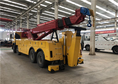 2 Winch Tow Truck Equipment With 6000mm Max Extension Traveling Lifting Boom